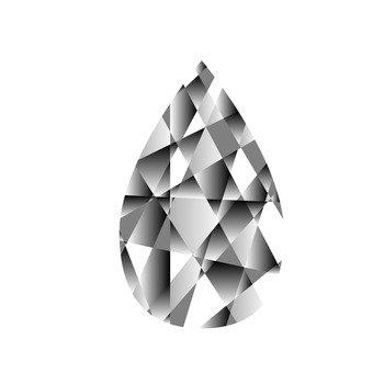 Diamond crystal 4