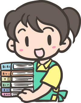 Book clerk