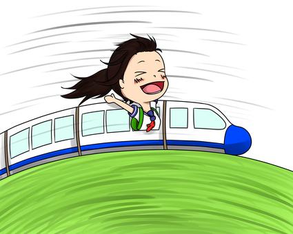 新幹線在學校旅行