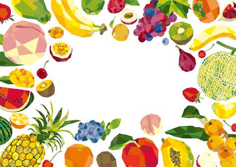 과일 프레임