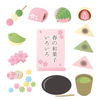 An assortment of spring sweets