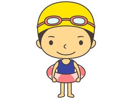 Water Swimming Character B2