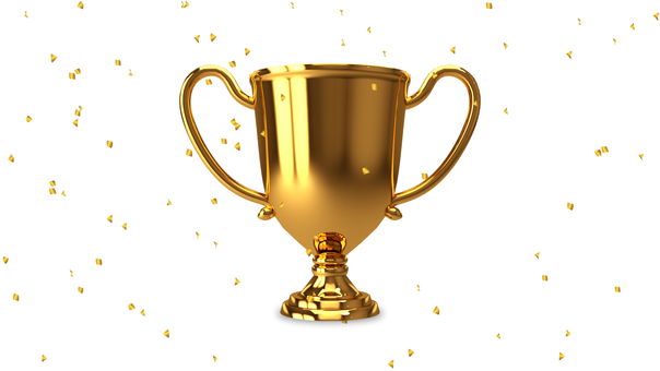 Trophy _ Gold _ Confetti