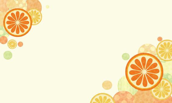 Orange frame 01