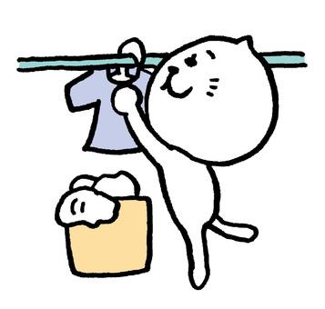 Shihaneeko washing