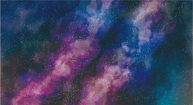 Milky Way (Watercolor effect)