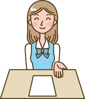 Woman / receptionist