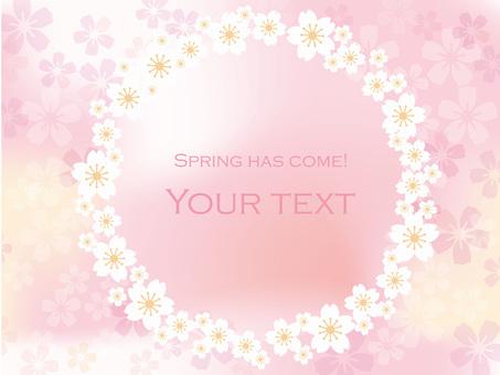 Spring message frame 10