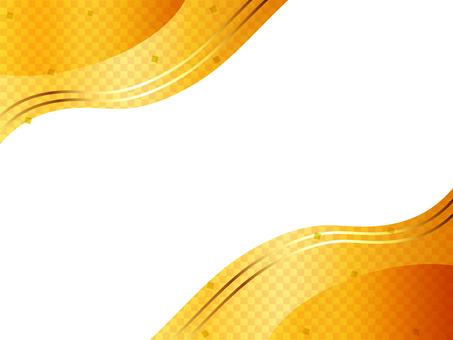 Japanese style gold background 01