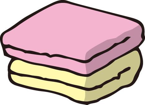 타올 (핑크 · 노랑)