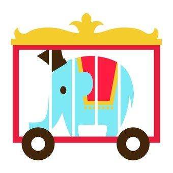 馬戲團的大象