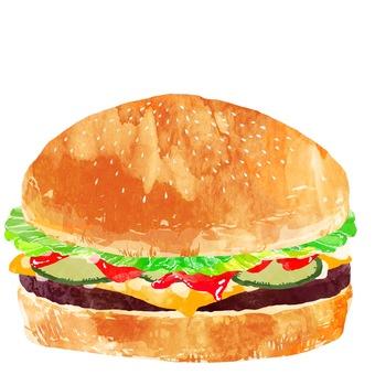 Hamburger cheese