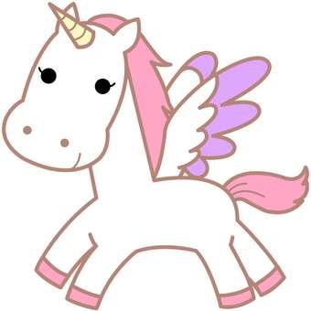 Animal illustration-unicorn