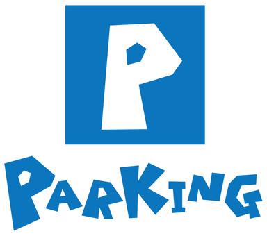 PARKING ~ parking ~ logo signboard