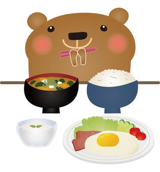 Kumami Japanese breakfast