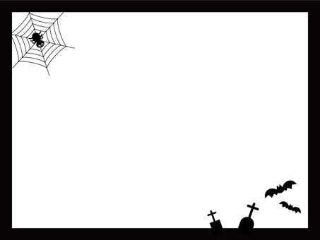 Halloween illustration (frame)