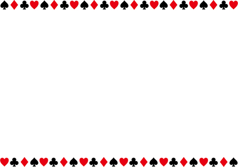Pattern of playing cards 2a