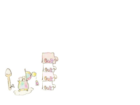 Cute sugar pot and cups