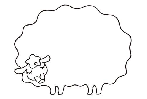 Sheep message frame