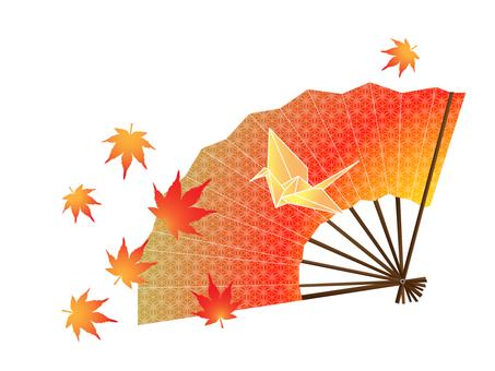 Autumn Folding Fan