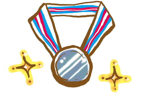 You silver medal ★