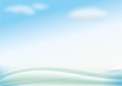 Background XX_ autumn sky