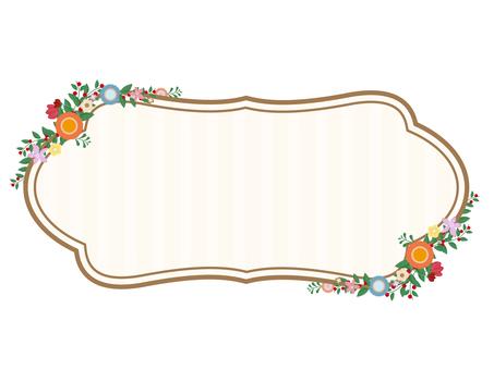 Flower label 2