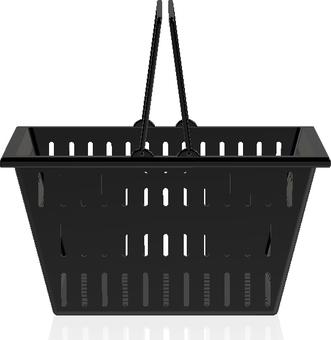 Shopping cart (black)