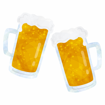 A beer toast