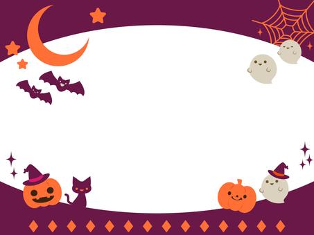 Pop Halloween Frame