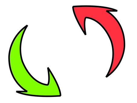 Exchange arrow