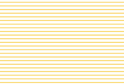 Thin yellow stripes