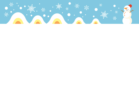 Kimakura and a snowman
