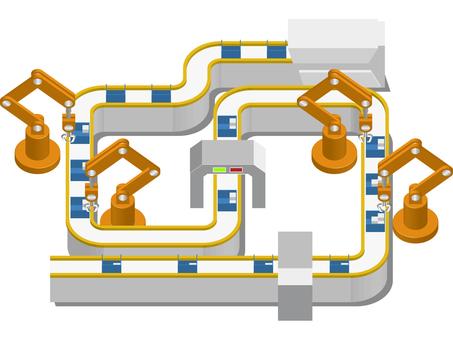 공장 자동화 라인 -2