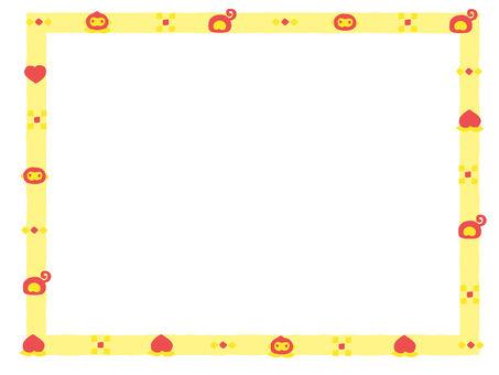 Osuru-san's frame