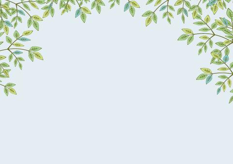 Natural leaf background