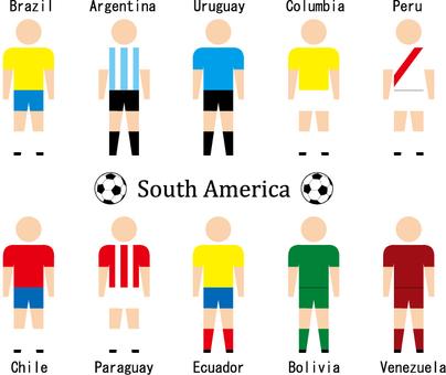 Soccer player (South America)