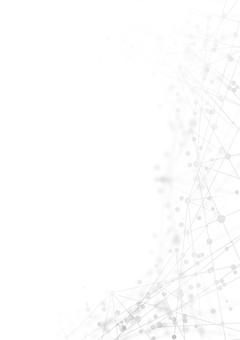 White digital cyberline image vertical background
