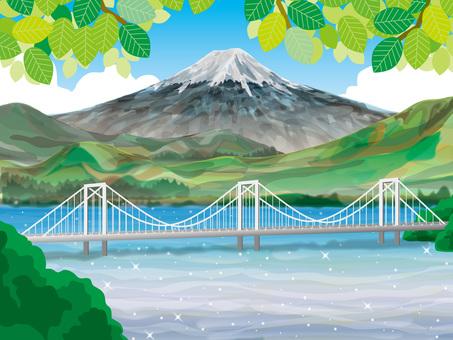 Mount Fuji (23) Suspension bridge