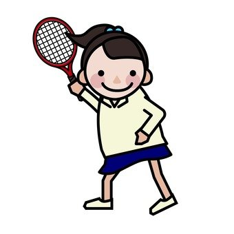 Junior High School Day - Tennis Class