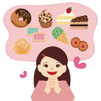 I love sweet things