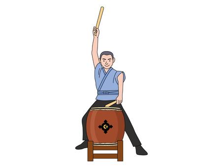 Long drum 1