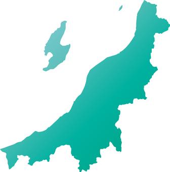 Niigata Prefecture _ Silhouette _ Green_Grade