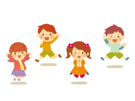 Jump jumping children 2