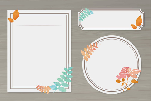 Flower frame part 6