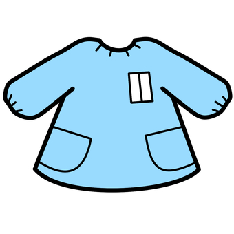 Play clothes light blue