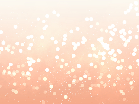 Glitter background material / Orange
