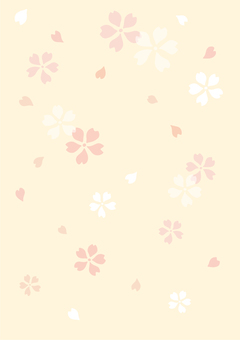 Hand-painted cherry background 4