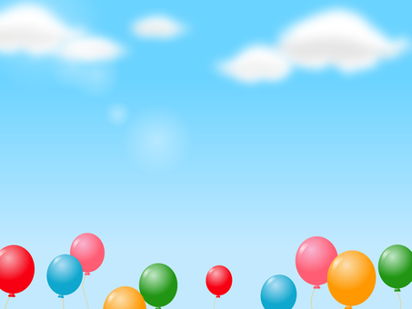 Balloon decorative frame 3