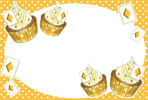 Cupcake Art Postcard